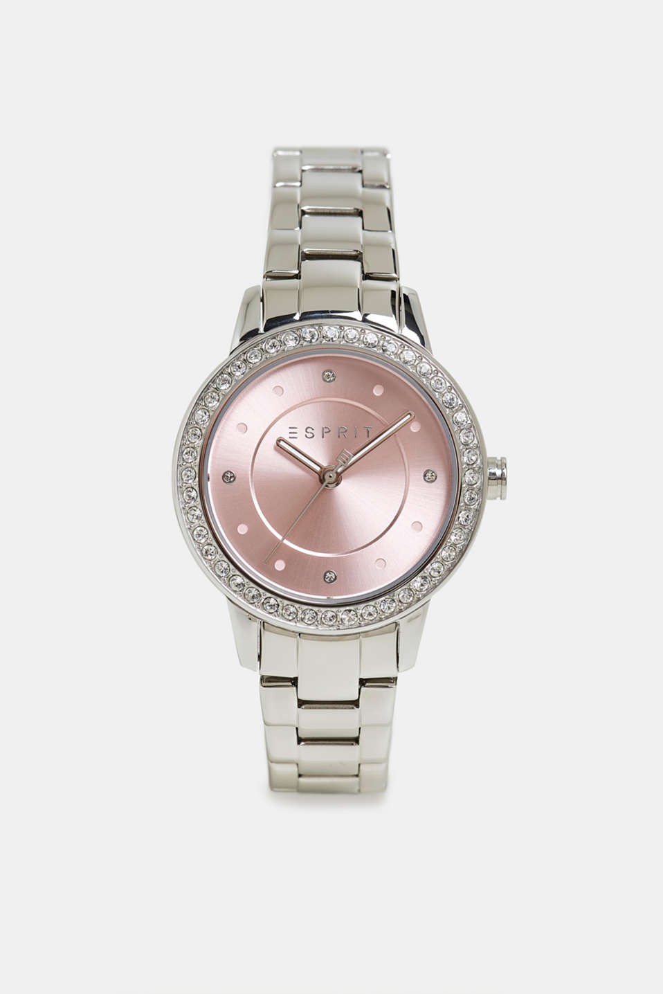 Esprit - Stainless steel watch with zirconia