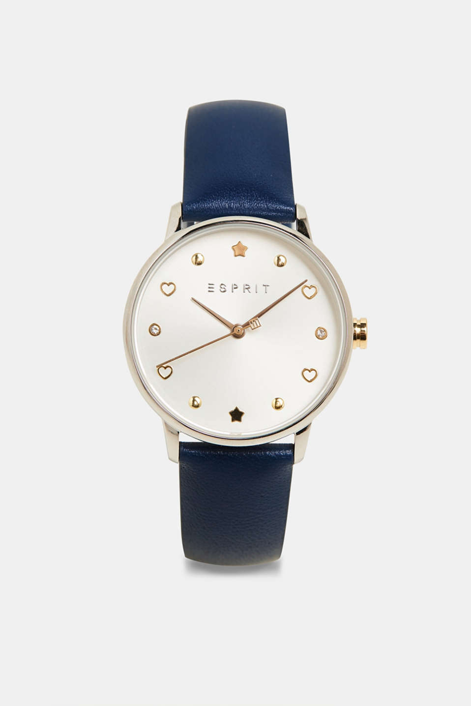 Watch and bracelet set, BLUE, detail image number 0