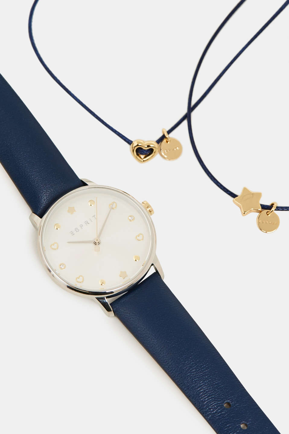 Watch and bracelet set, BLUE, detail image number 1