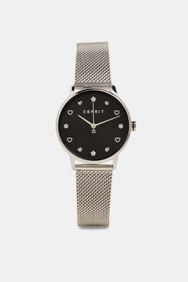 Watch and bracelet set, SILVER, detail