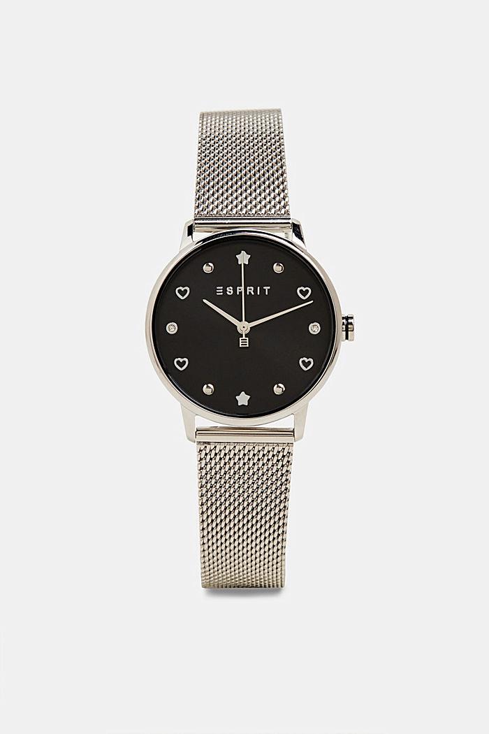 Watch and bracelet set, SILVER, detail image number 0