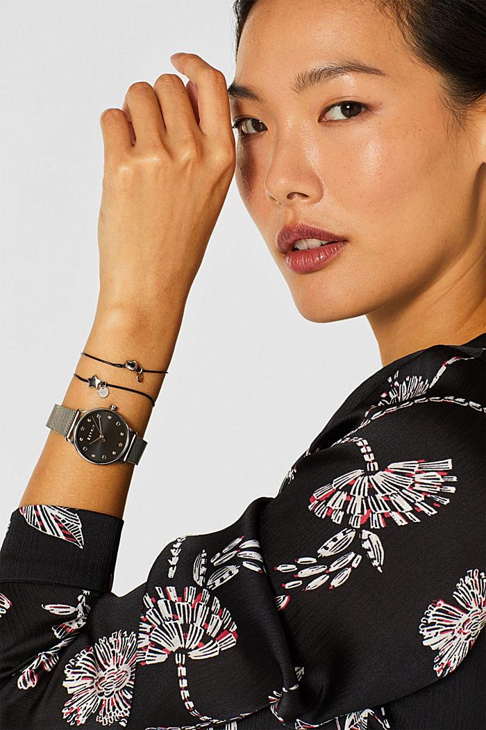 Watch and bracelet set, SILVER, detail image number 2