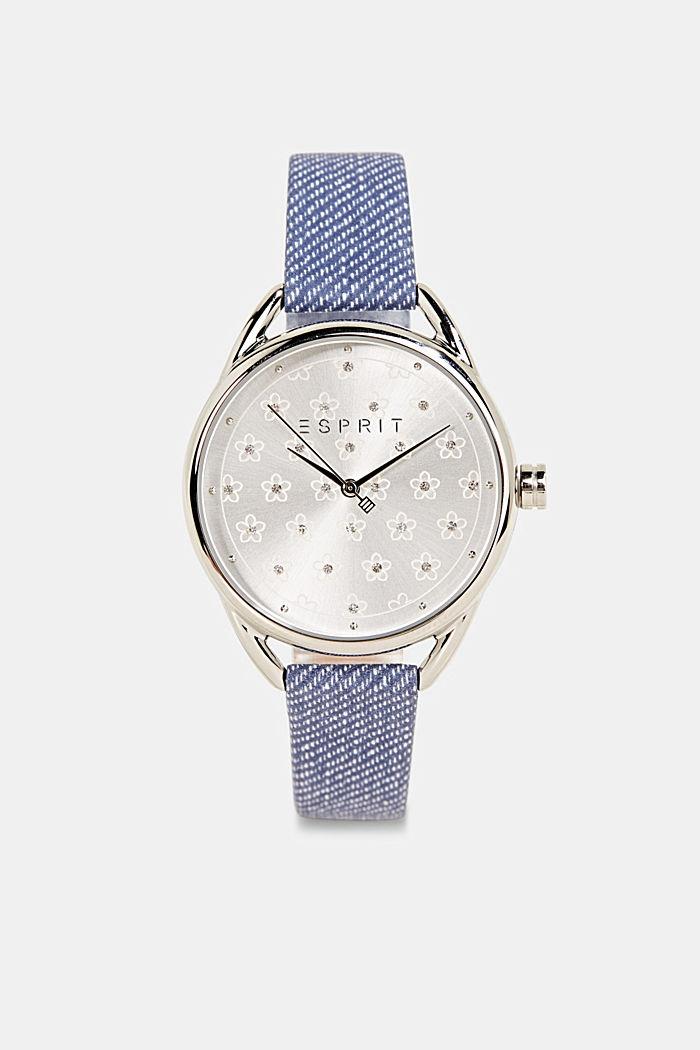 Set aus Uhr und Armband, BLUE, detail image number 0