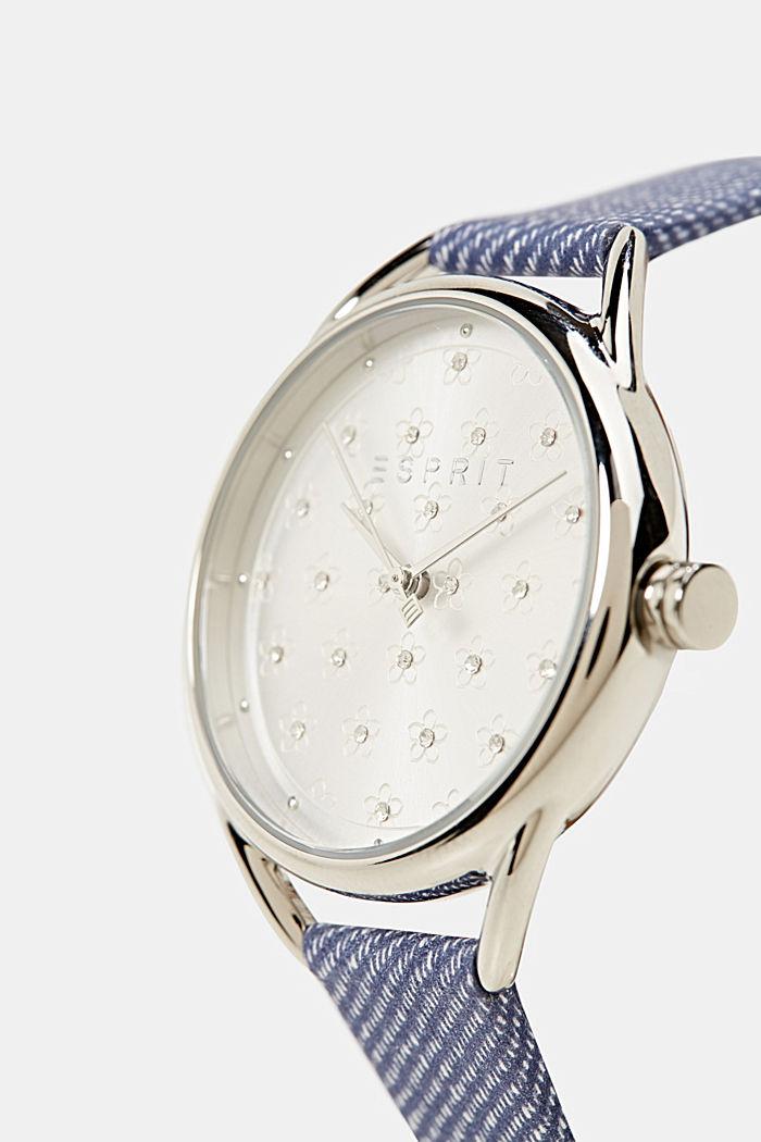 Set aus Uhr und Armband, BLUE, detail image number 4