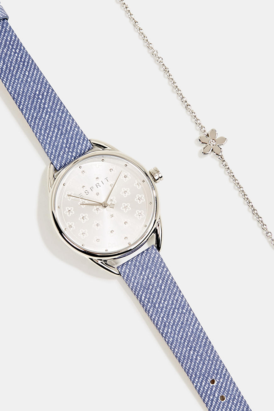 Watch and bracelet set