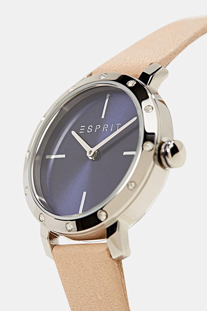 Watch and bracelet set, BEIGE, detail image number 4