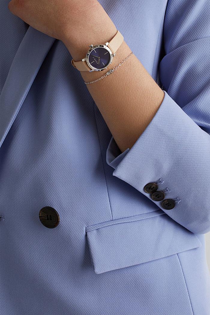 Watch and bracelet set, BEIGE, detail image number 2