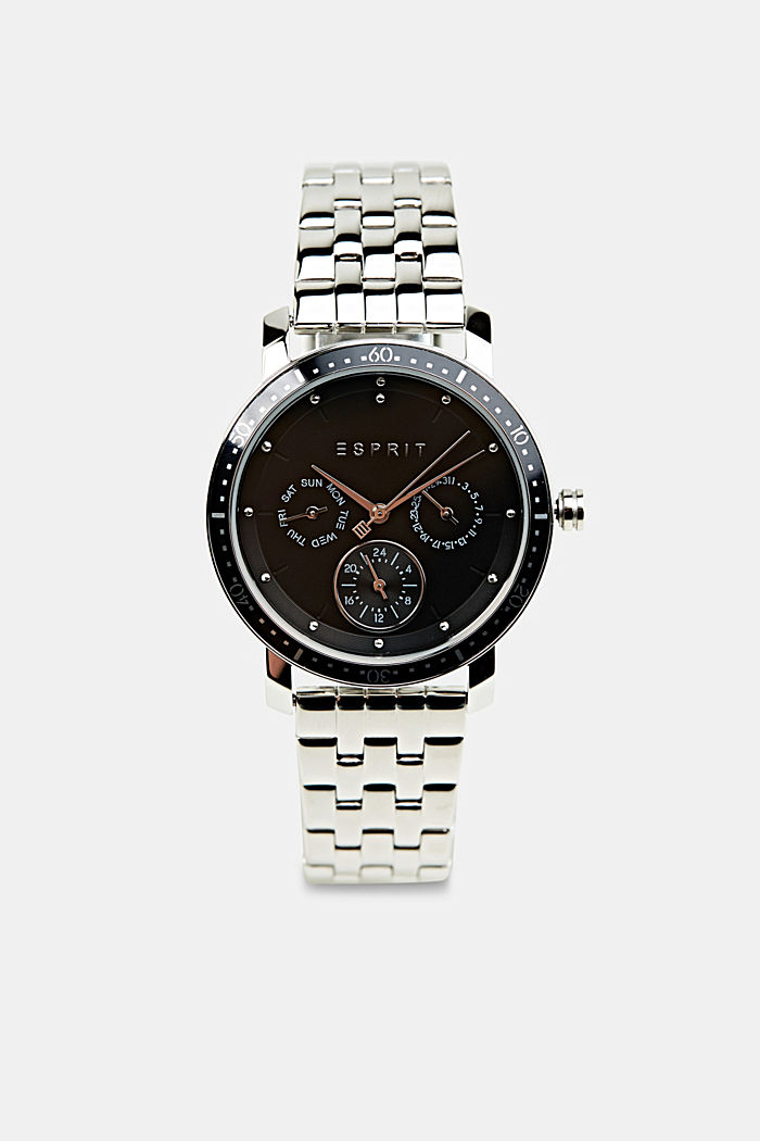 Multi-functional watch made of stainless steel