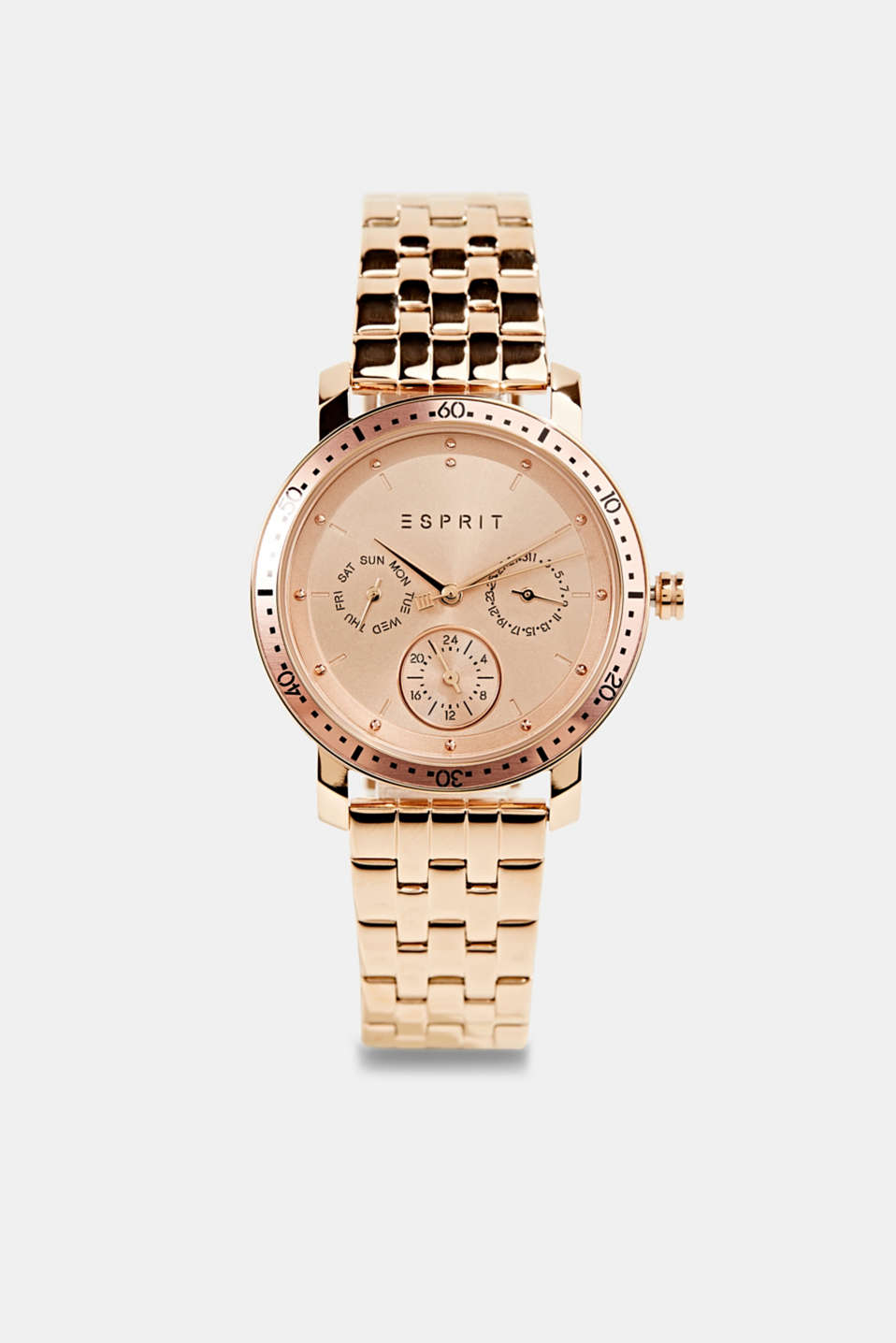 Esprit - Multi-functional stainless-steel watch