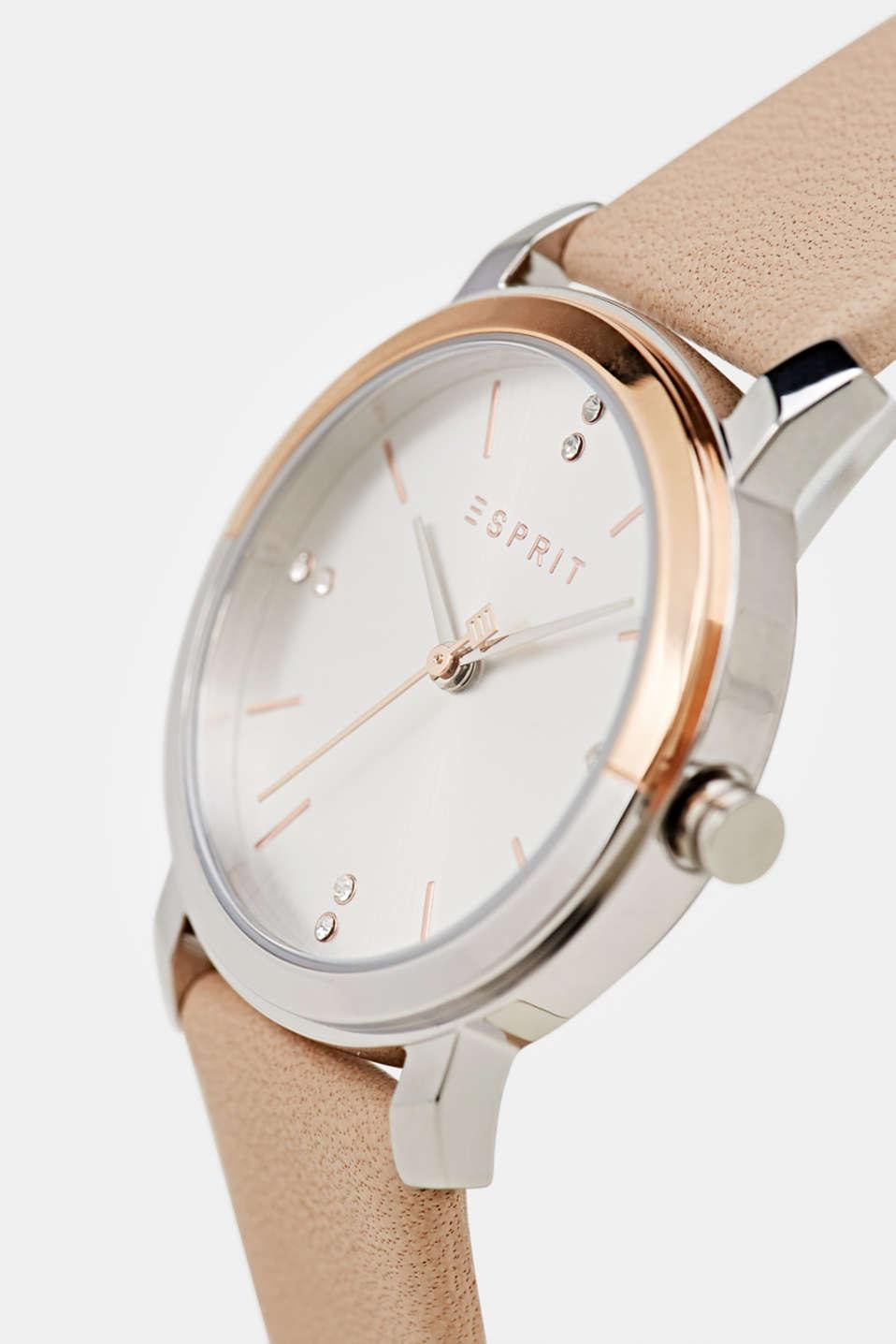 Watch and bracelet set, LCBEIGE, detail image number 2