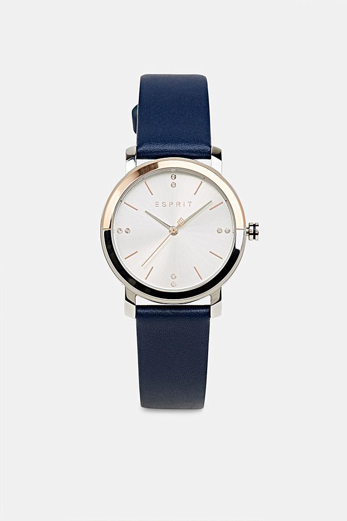 Watch and bracelet set, BLUE, detail image number 0