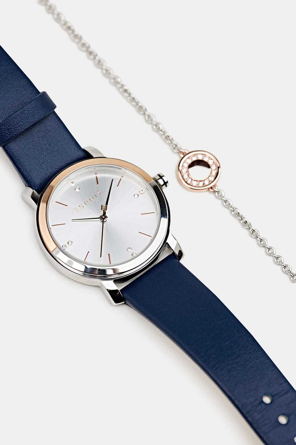 Watch and bracelet set, LCBLUE, detail image number 5