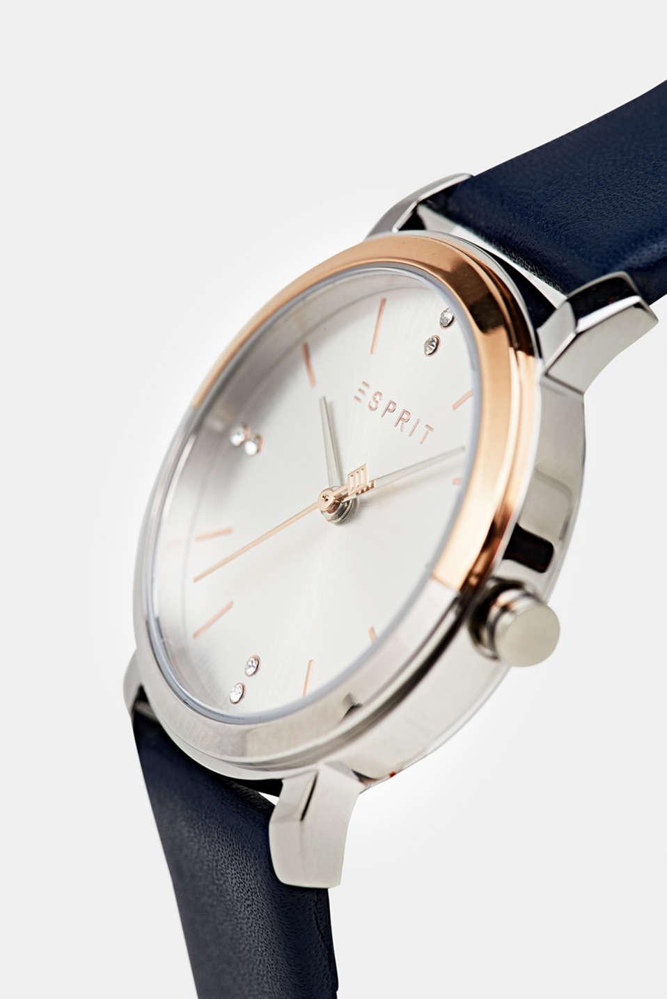 Watch and bracelet set, LCBLUE, detail image number 1