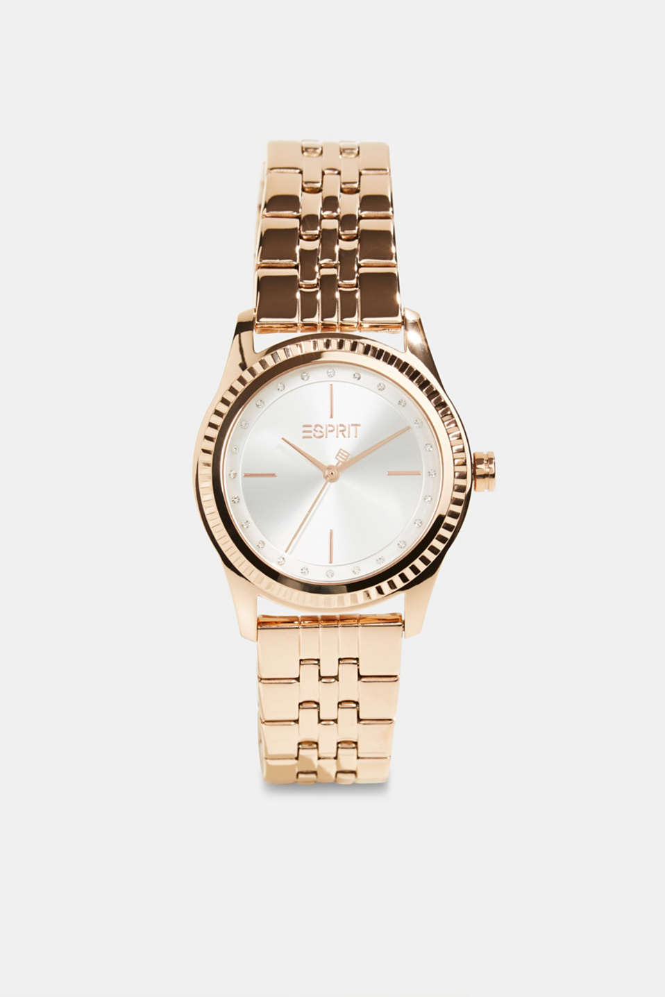 Esprit - Stainless-steel watch with rose gold plating