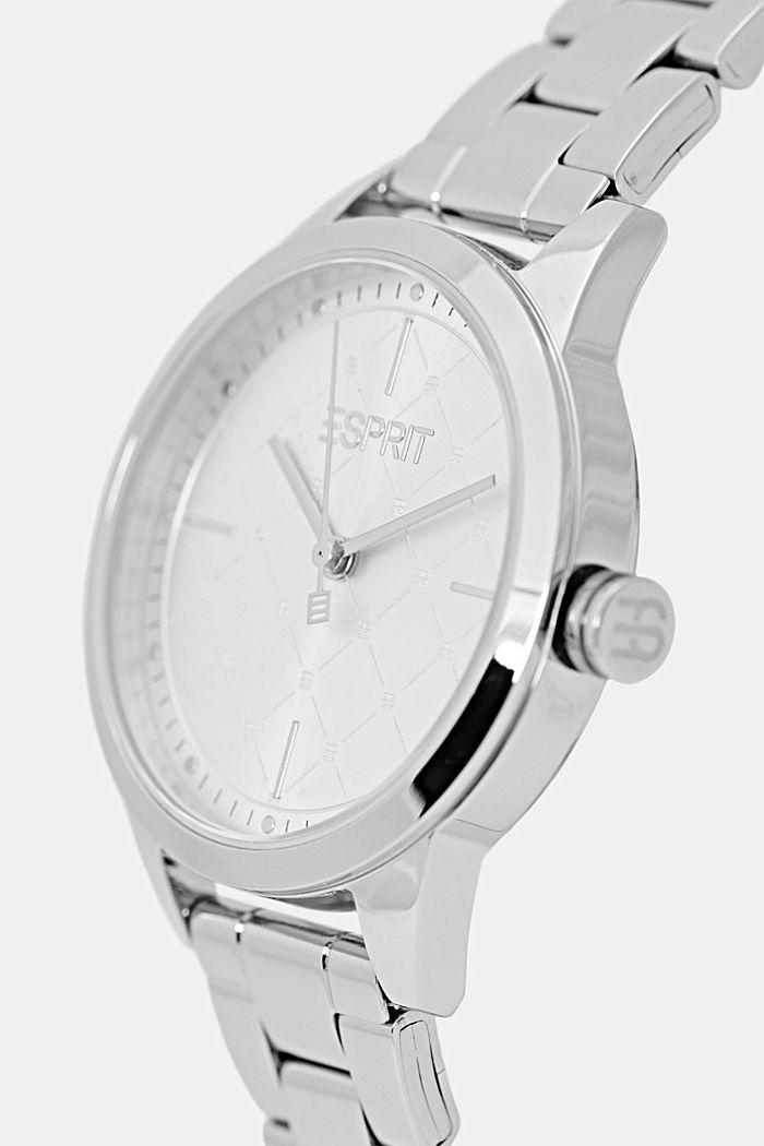 Set aus Uhr und Armband, SILVER, detail image number 1