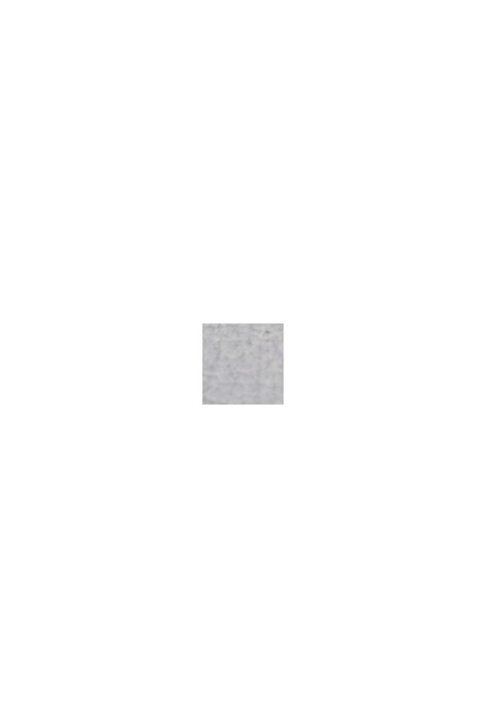 Vegansk: ur i rustfrit stål med mønstret krans, GREY, swatch