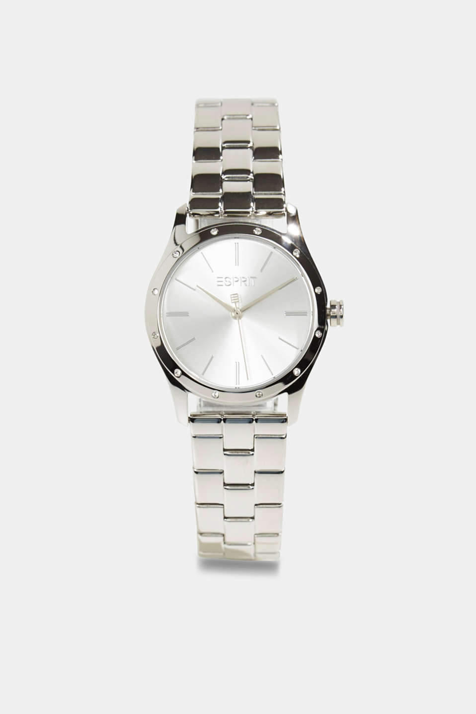 Esprit - Gemstone watch with zirconia