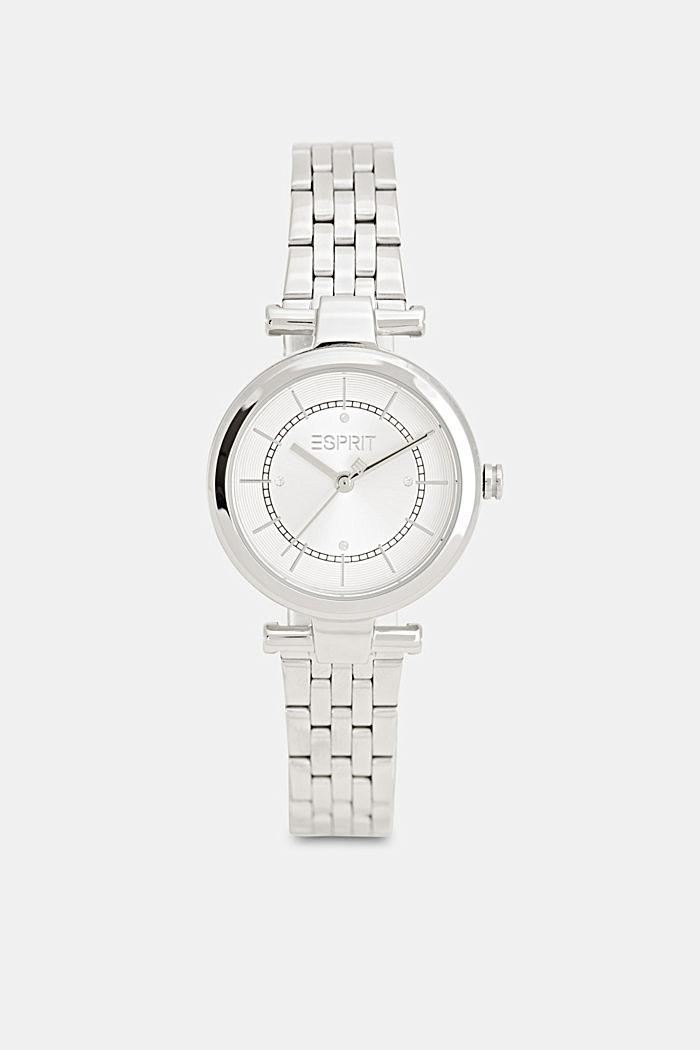 Set aus Uhr und Armband, SILVER, detail image number 0