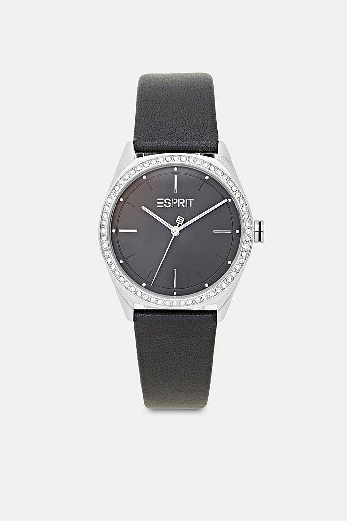 Set van horloge en armband, BLACK, detail image number 0