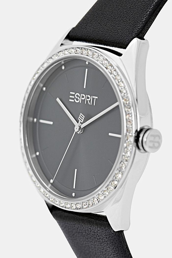 Set van horloge en armband, BLACK, detail image number 1