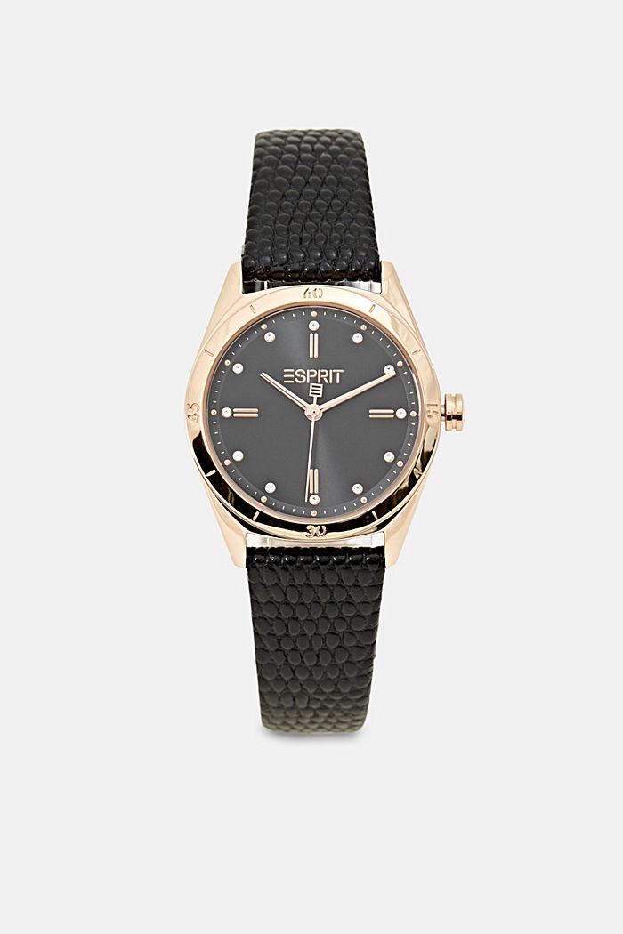 Timewear Leather, BLACK, detail image number 0