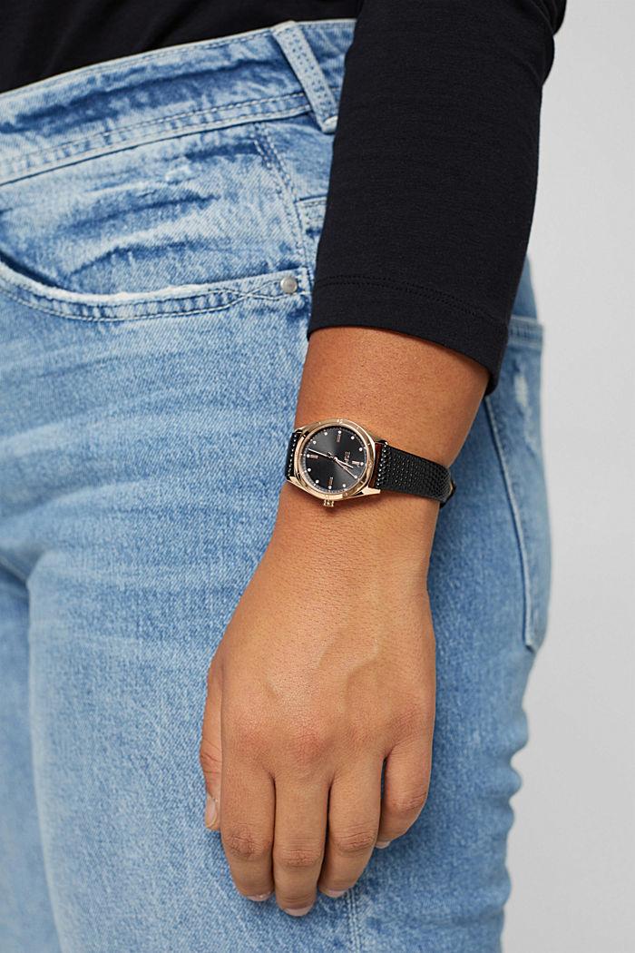 Timewear Leather, BLACK, detail image number 4