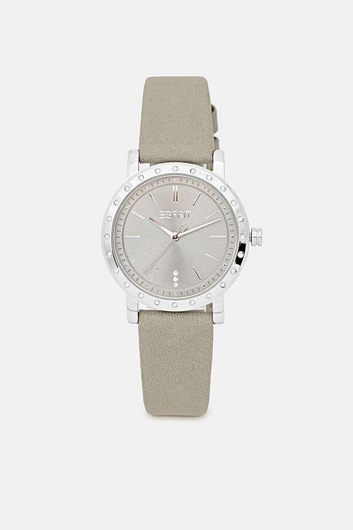 Watch and bracelet set, GREY, detail image number 0
