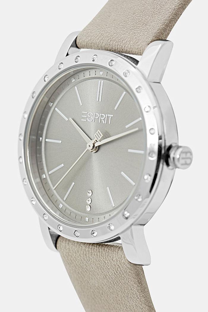 Watch and bracelet set, GREY, detail image number 1