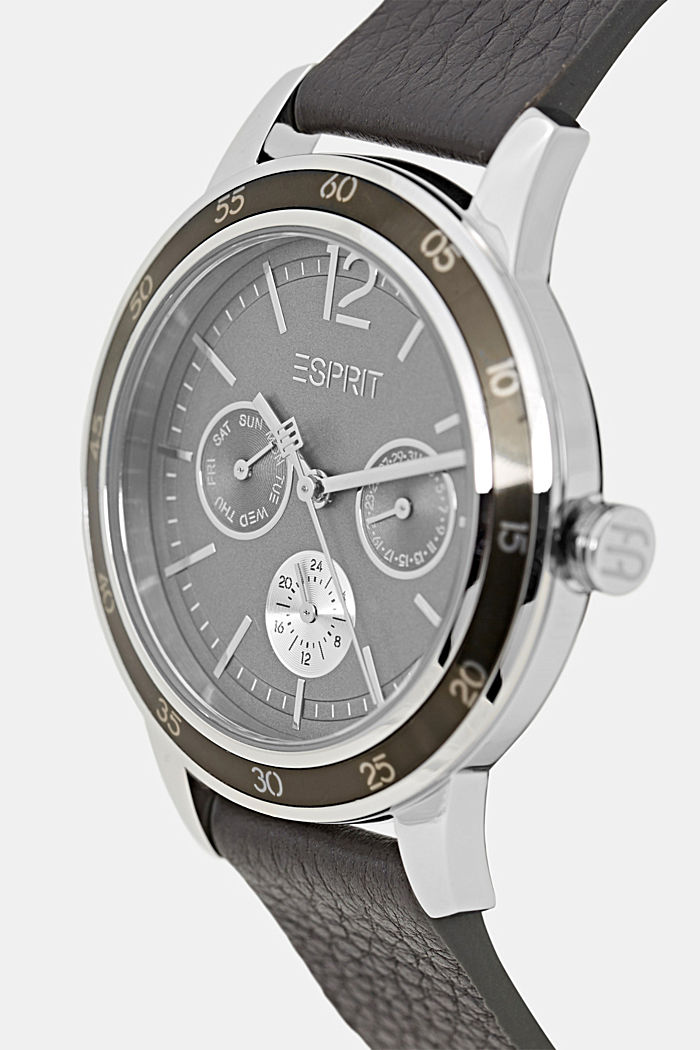Timewear Leather, DARK GREY, detail image number 1