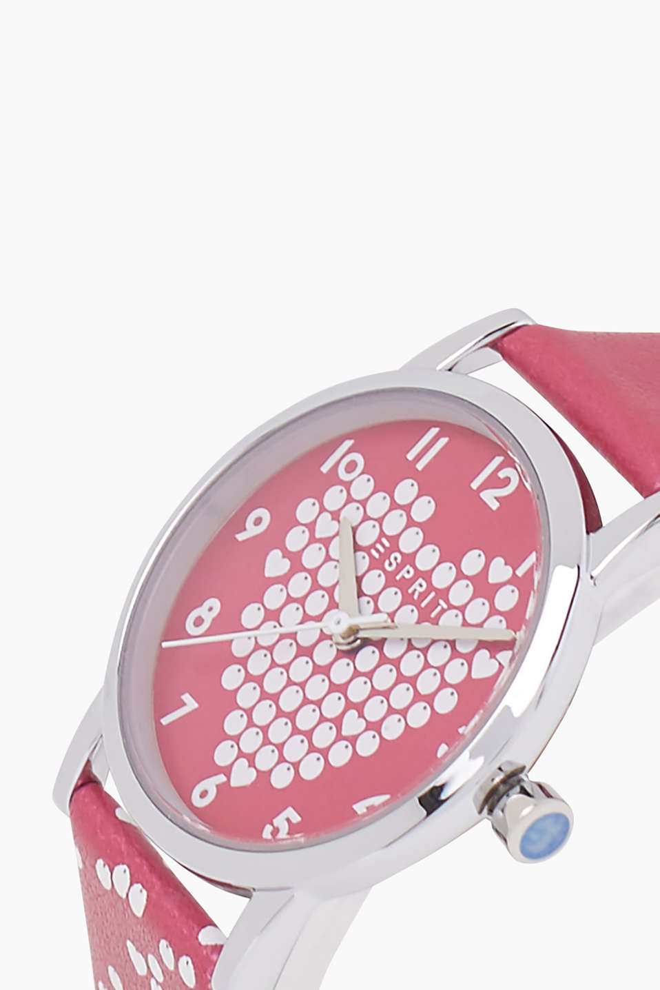 Kids watch with a heart design