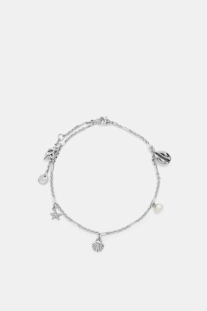 Anklet with nautical charms