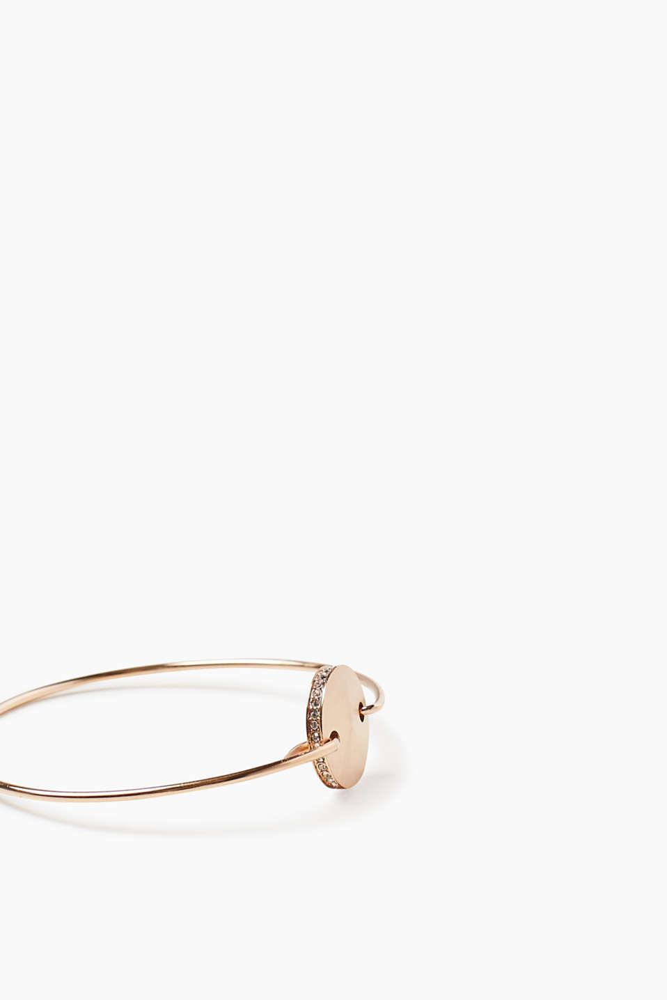 Minimalist bangle in rose gold