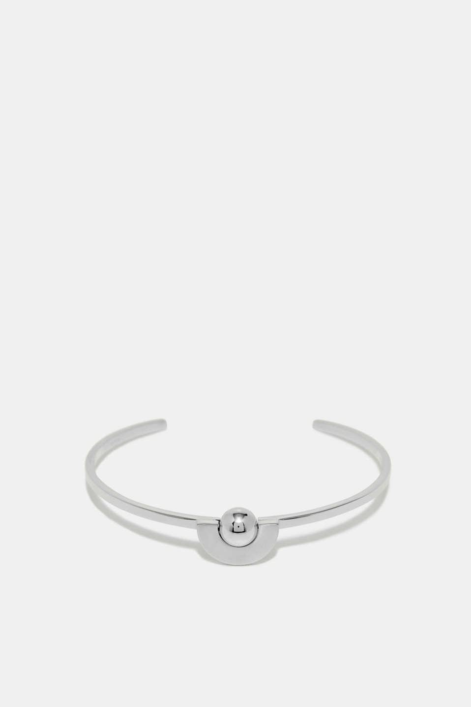 Esprit - Open bangle plus stainless-steel orb