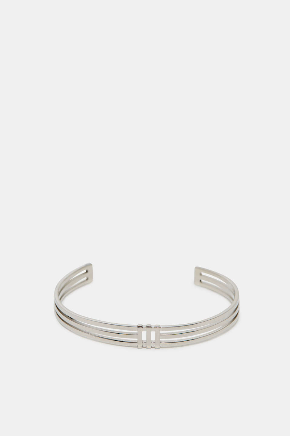 Esprit - Bangle in silver tone stainless steel