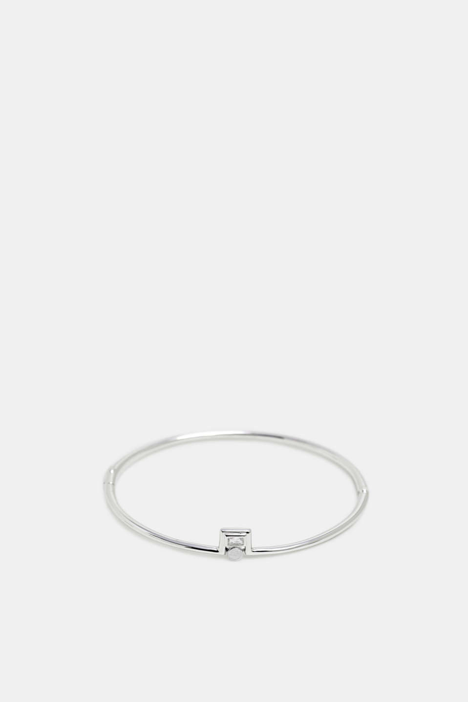 Esprit - Bangle with zirconia, sterling silver