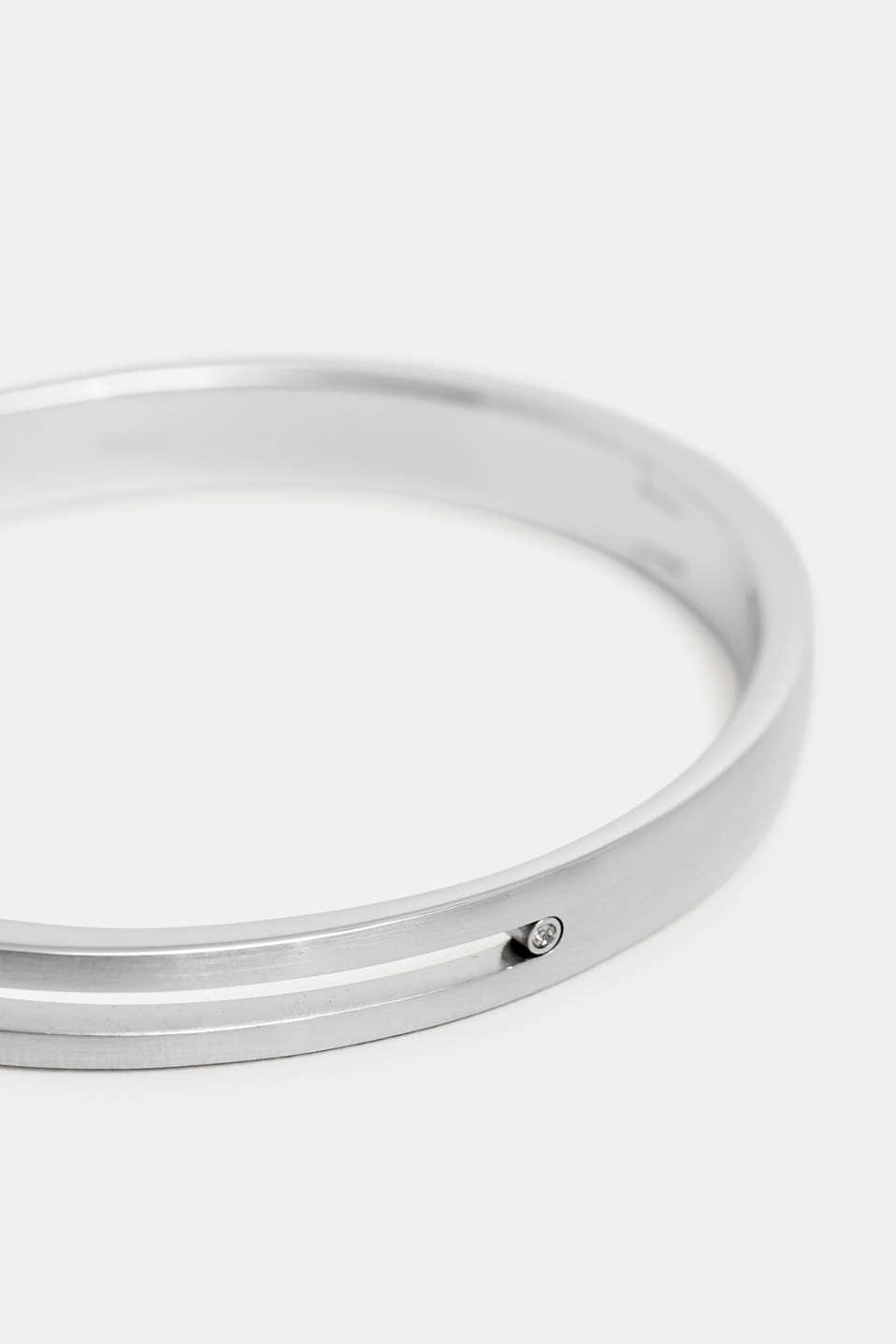 Bracelets steel, SILVER, detail image number 1