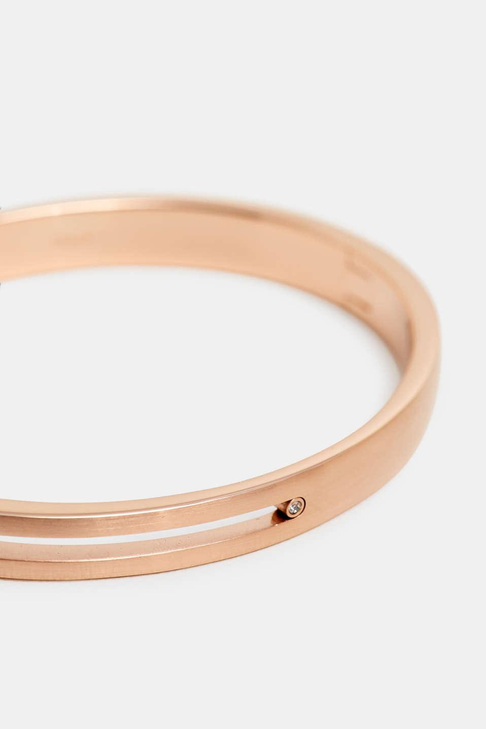 Bracelets steel, ROSEGOLD, detail image number 1
