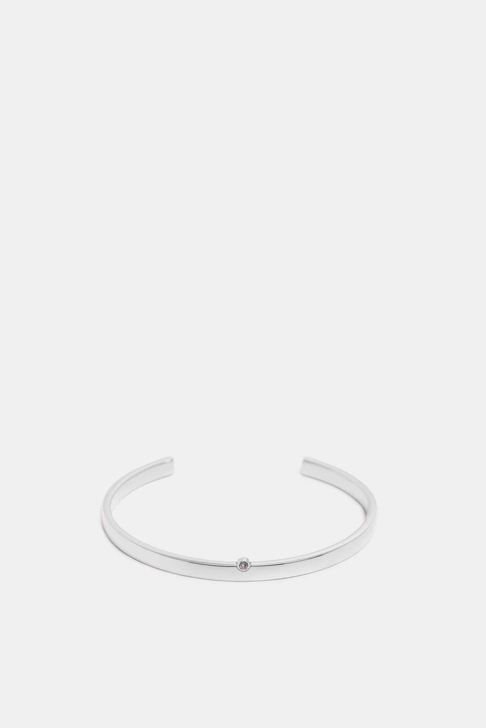 Esprit - Bangle with zirconia, made of stainless steel