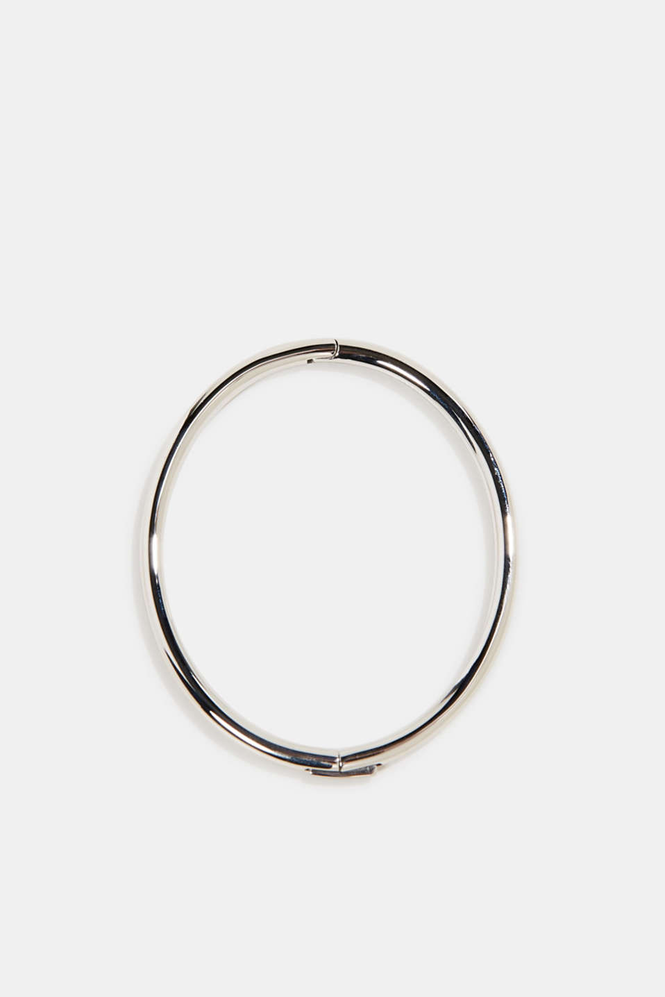 Bangle made of stainless steel, LCSILVER, detail image number 0