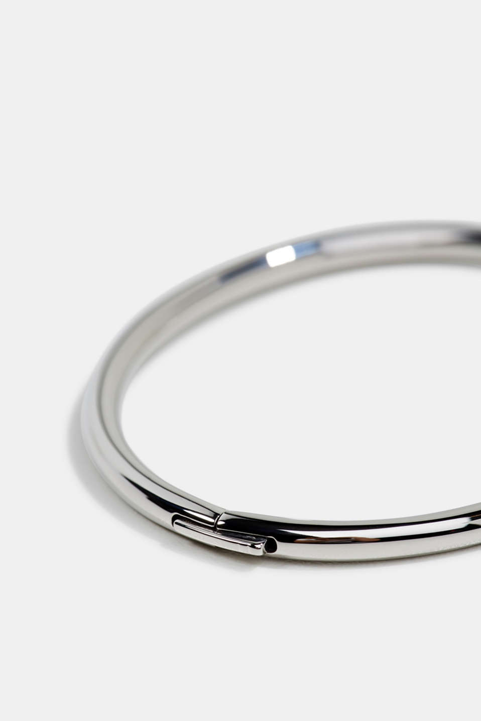 Bangle made of stainless steel, LCSILVER, detail image number 1