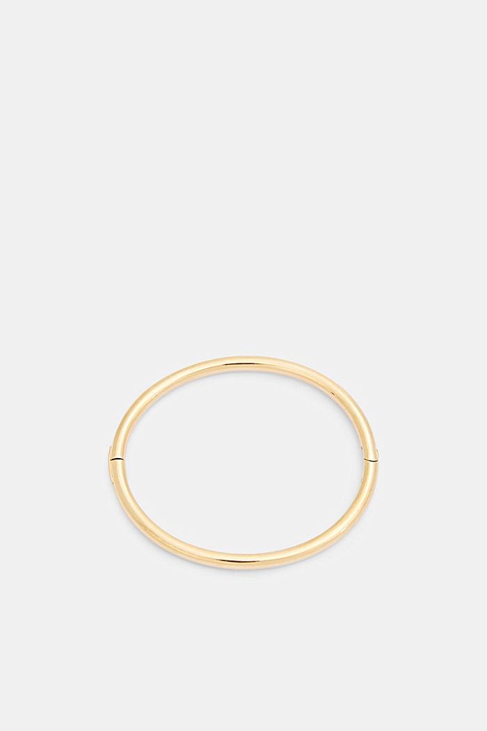 Armreif mit Clipverschluss, Edelstahl, GOLD, detail image number 0