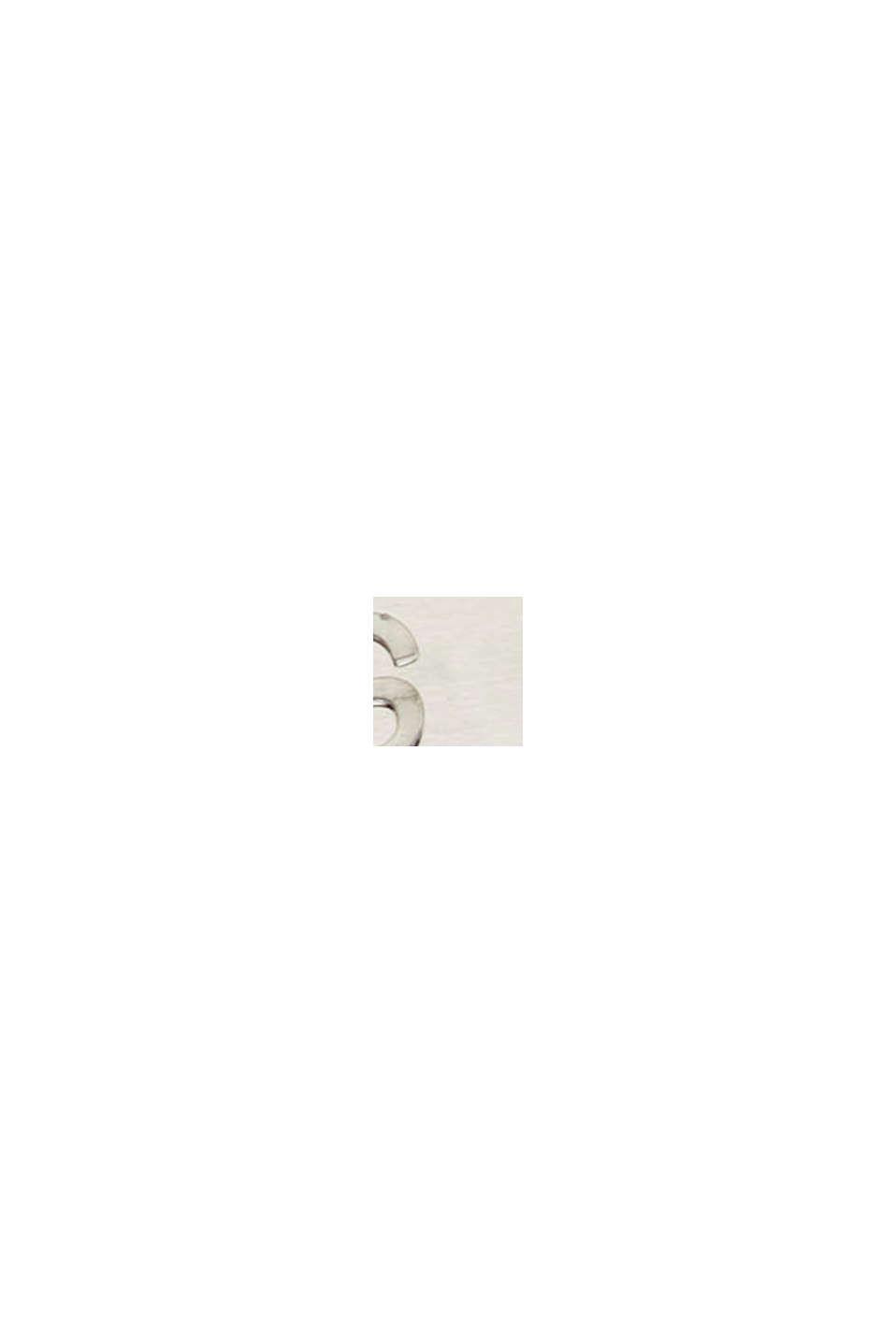 Armreif mit Zirkonia, aus Edelstahl, SILVER, swatch