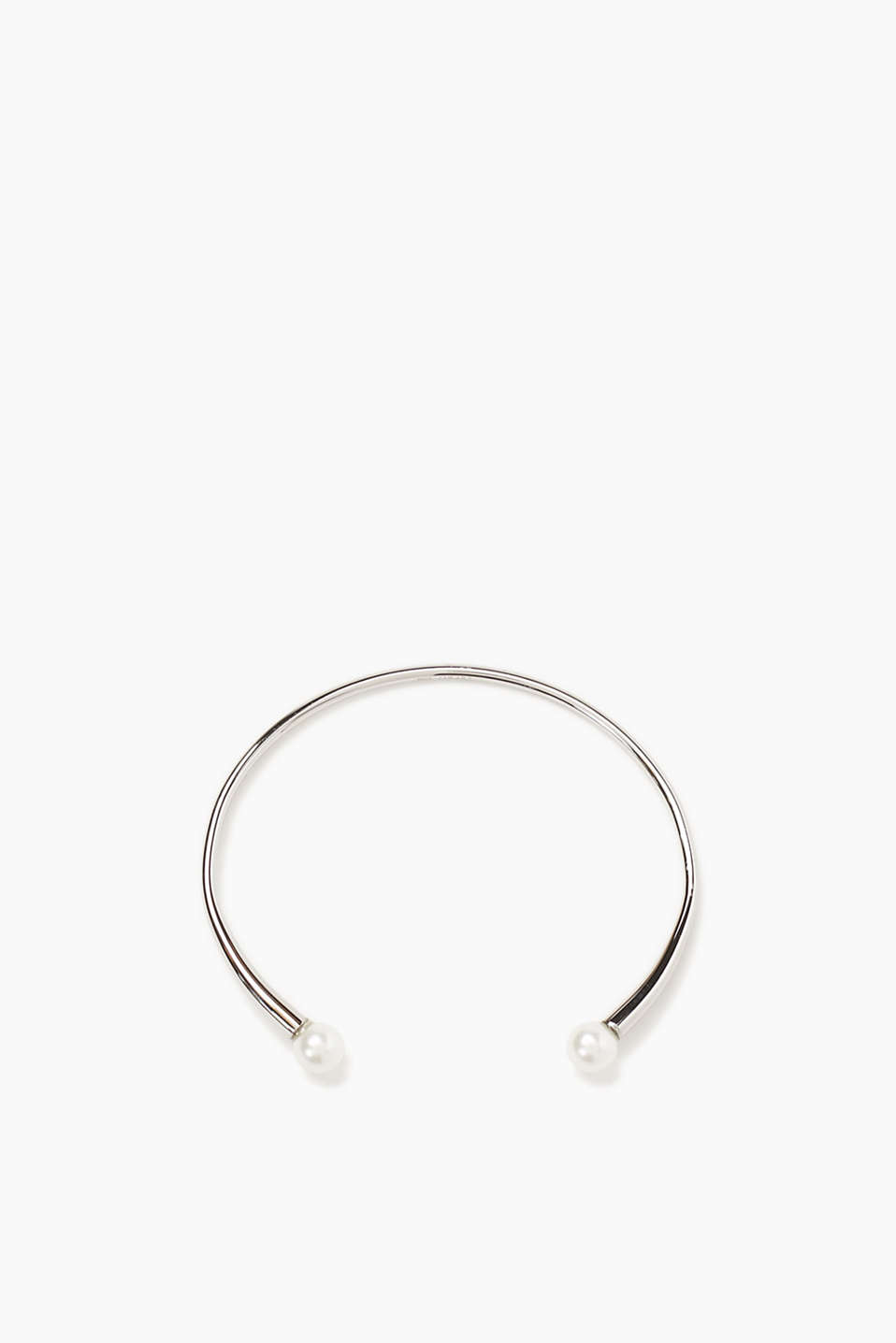 Esprit - Stainless steel bangle with beads