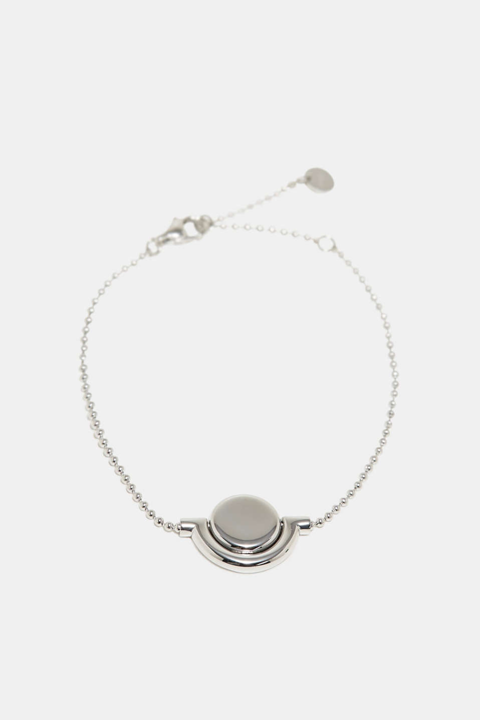 Esprit - Stainless steel bracelet with a rotating pendant