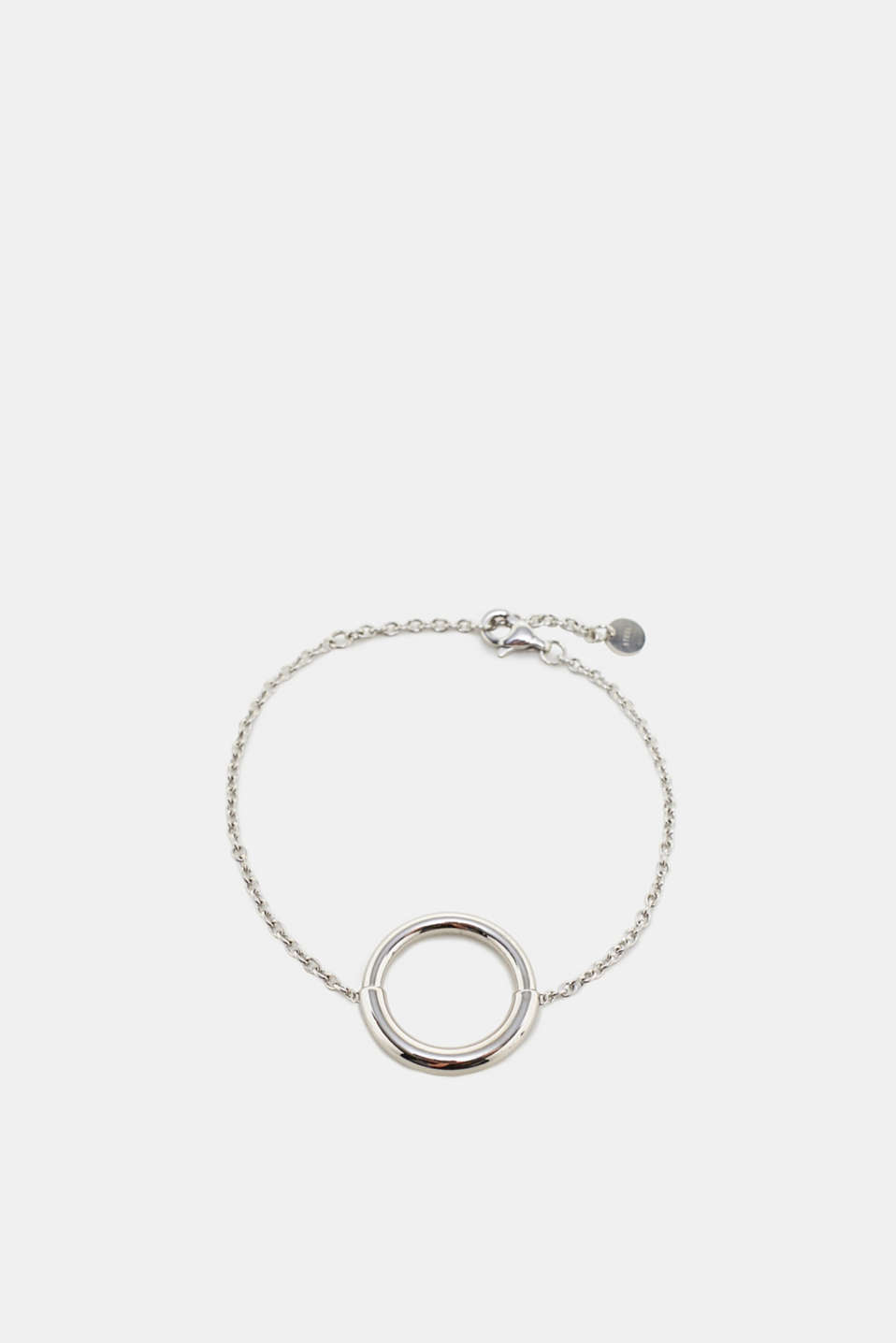 Esprit - Stainless steel bracelet with ring pendant