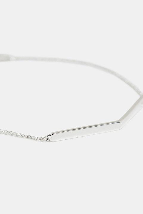 Fine bracelet in sterling silver