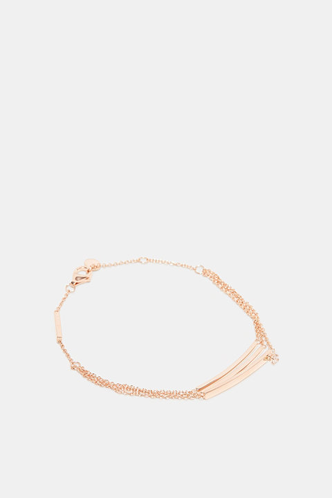 Bracelet with zirconia, sterling silver