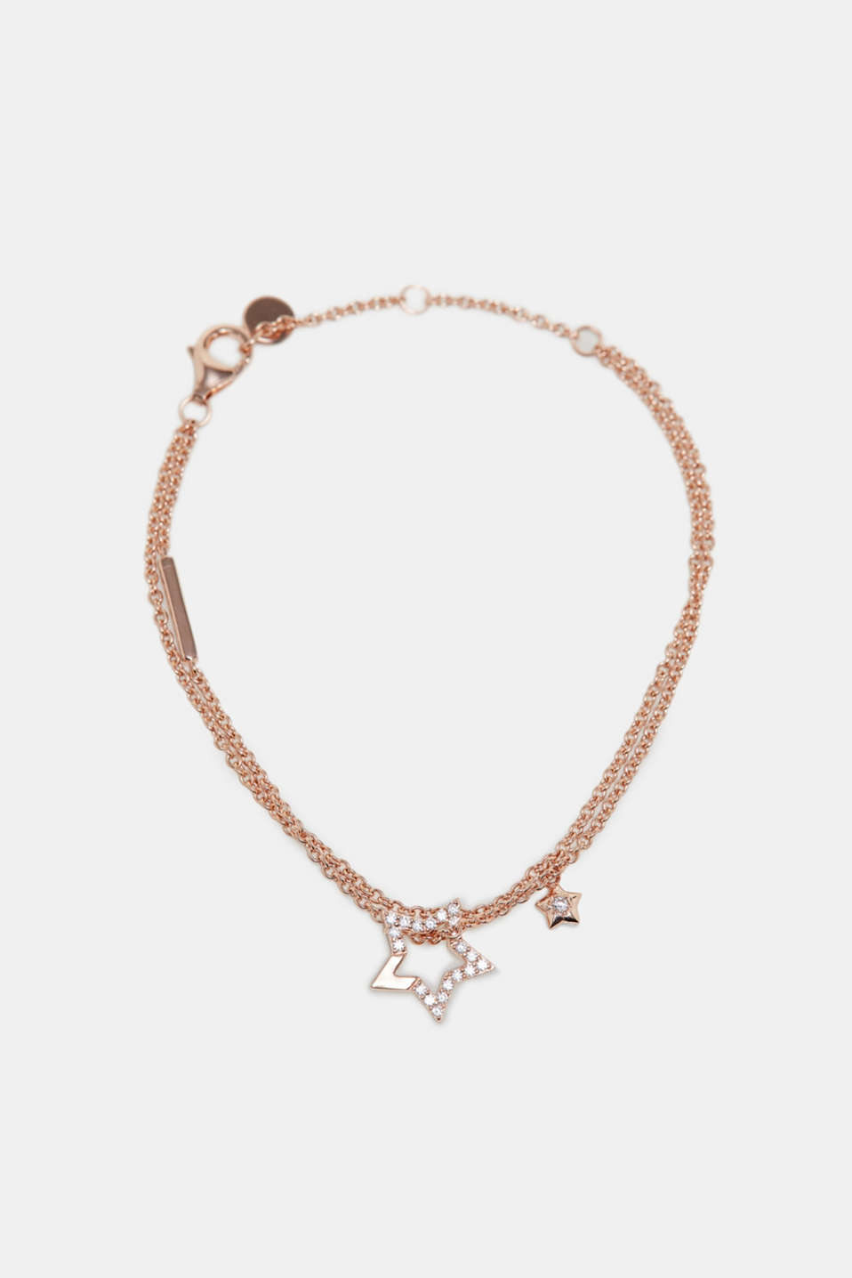 Esprit - Bracelet with a star pendant, sterling silver