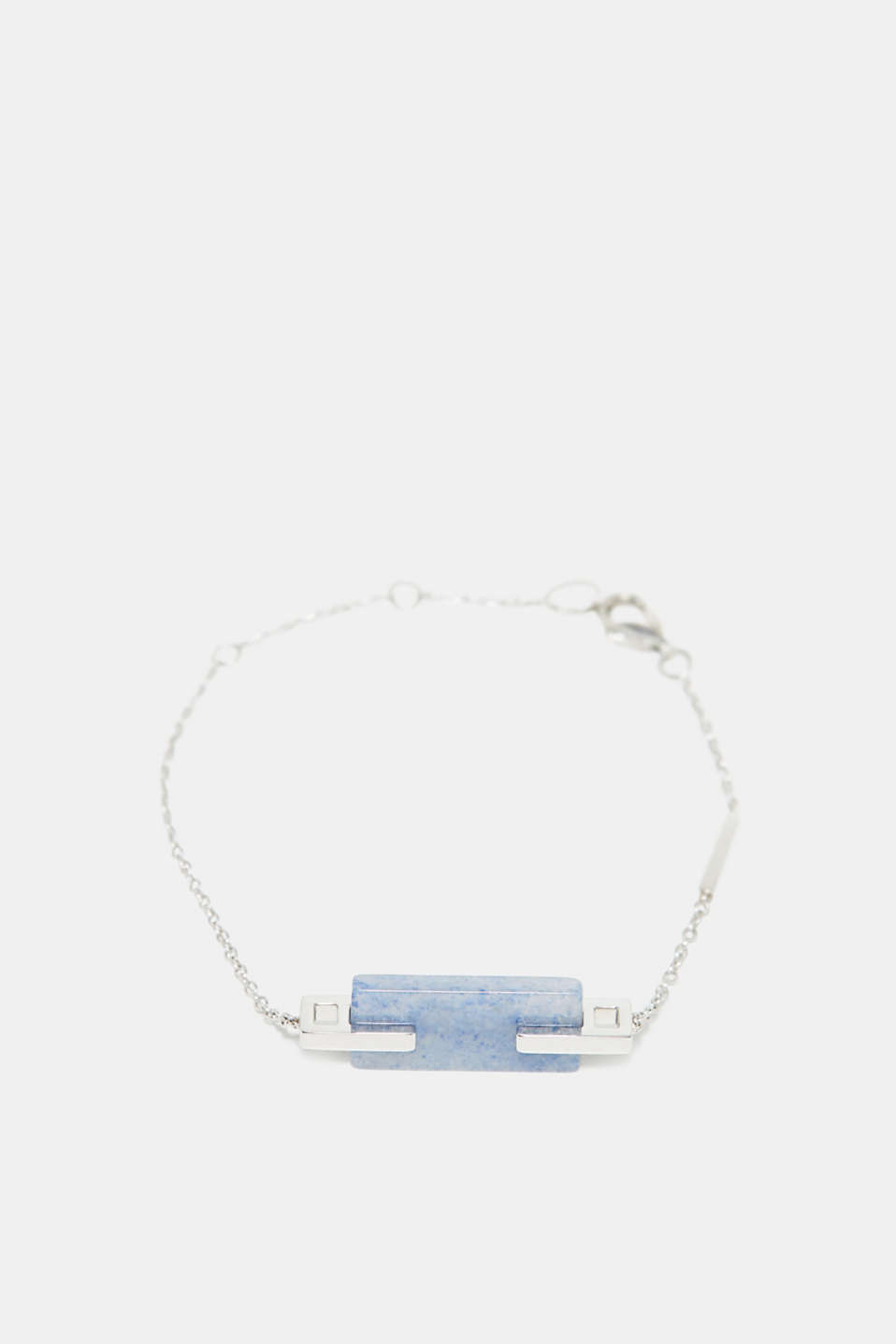 Esprit - Bracelet with blue gemstone, made of stainless steel