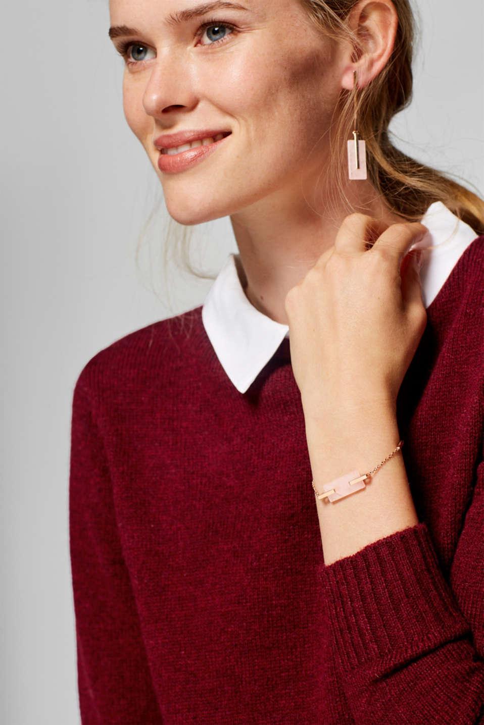 Bracelets steel, one colour, detail image number 2